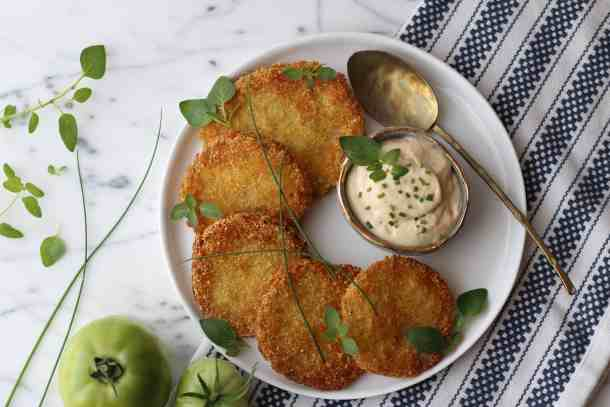fried green tomato recipe amandas plate
