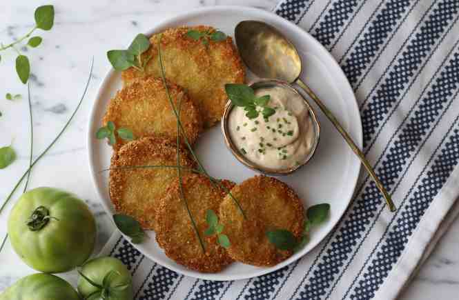 Amanda's Plate fried green tomatoes, fried green tomato recipes