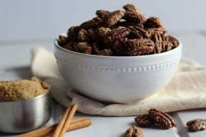 candied pecans, candied nuts