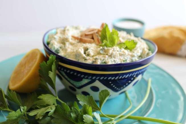healthy salad, bulgur wheat salad, bulgur wheat, yogurt salad, greek yogurt salad