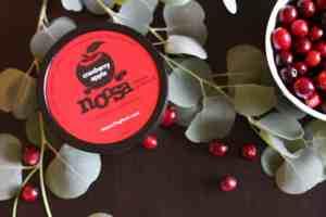 cranberry apple yoghurt, yoghurt, Noosa