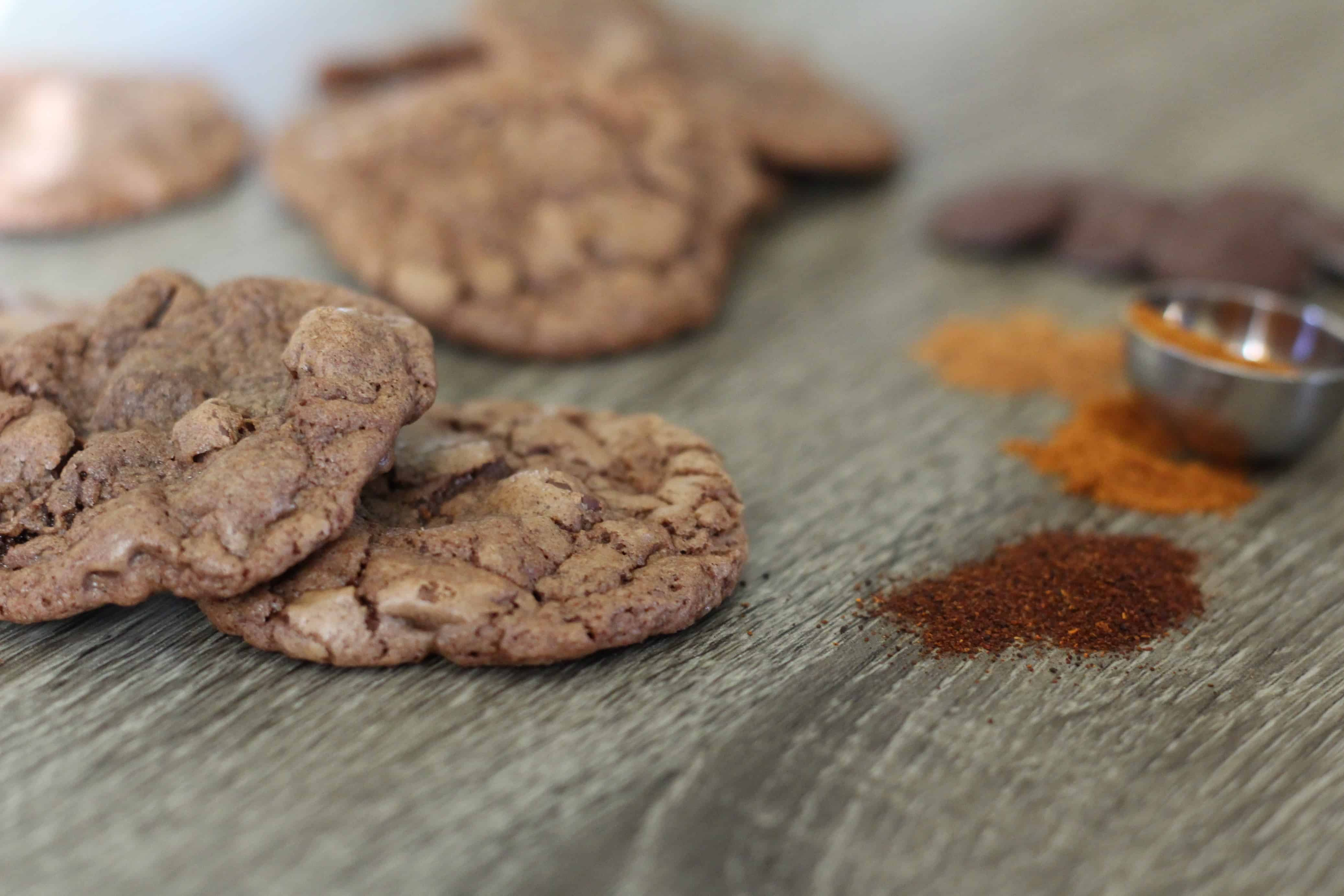 Mexican Hot Chocolate Cookies - Amanda's Plate