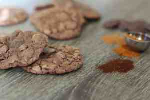 Mexican hot chocolate cookies, spicy cookies, mexican cookies, spicy chocolate cookies