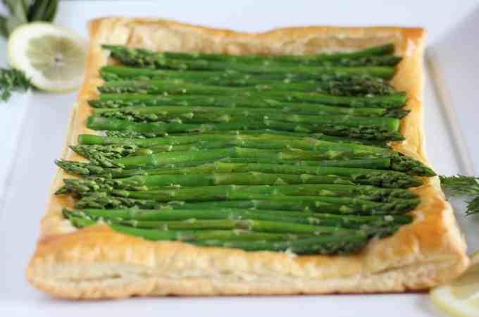 Asparagus Tart with Homemade Ricotta
