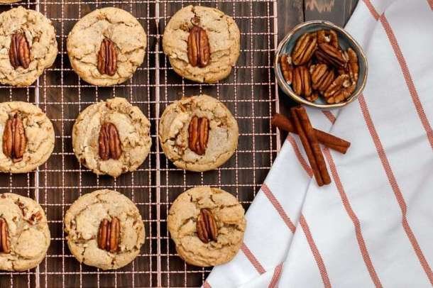 brown butter pecan cookie recipe amandas plate