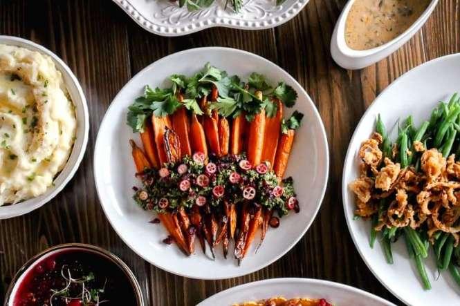 Amanda's Plate roasted carrots