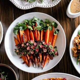 Amanda's Plate roasted carrots