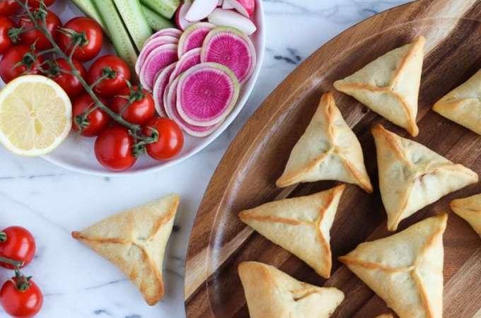 Lebanese Spinach Pies Fatayar
