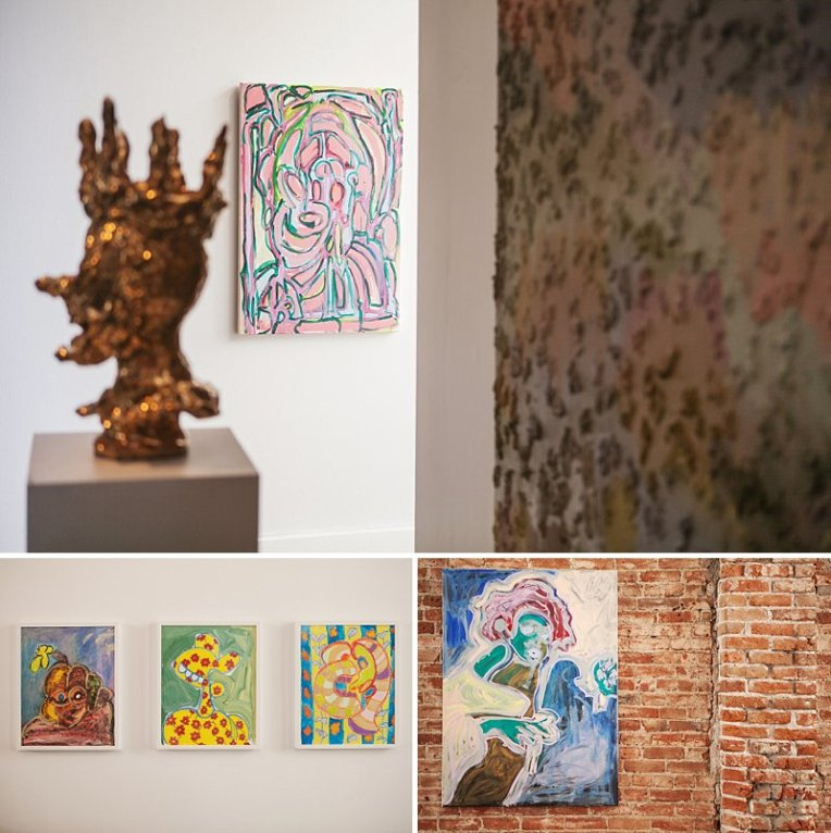 Matthew Harris, Denver Events, Denver Art Gallery, Leon Gallery, I found Leon, Baroque Selfies,