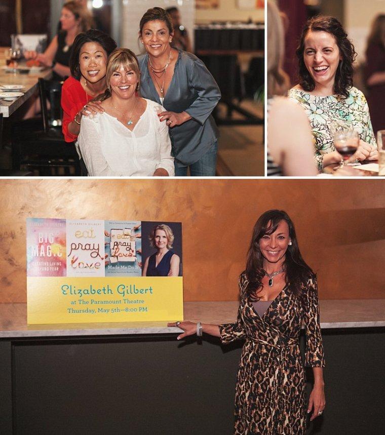 Elizabeth Gilbert Live, Elizabeth Gilbert VIP, Elizabeth Gilbert Author Event, Colorado Event Photography, Denver VIP Photography, Nancy Rebek PR