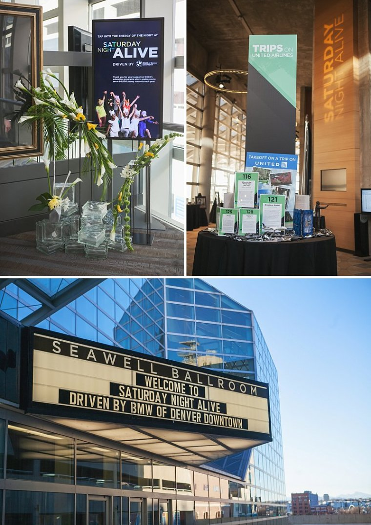 Denver Center for the Performing Arts, Saturday Nights Alive, Denver Events. Seawell Ballroom, Denver Event Photography, Denver Theater