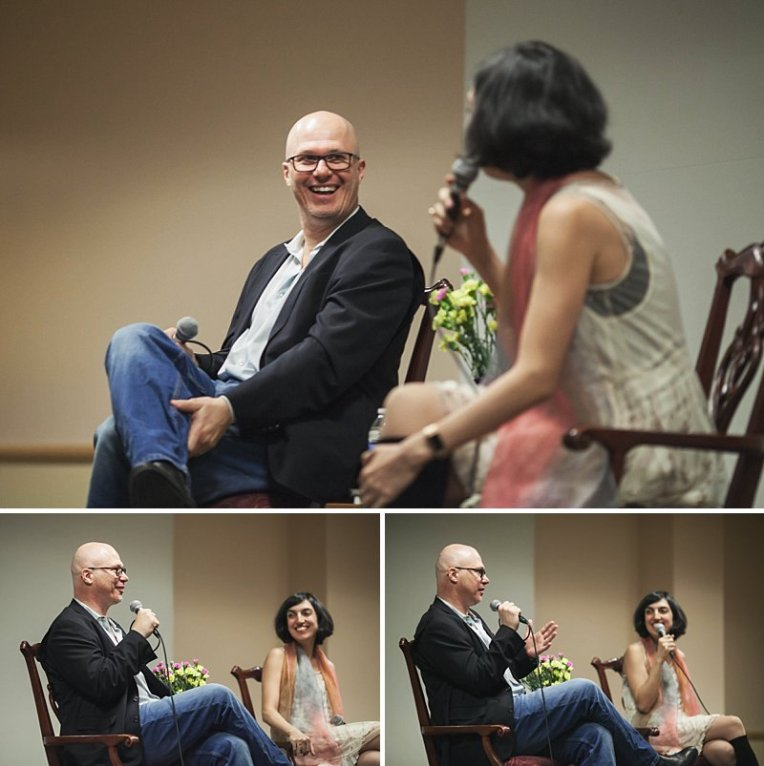 Aleksandar Hemon,Auraria Campus,Denver Event Photography,Denver Events,Elif Batuman,Lighthouse Writers Workshop,The Tivoli,