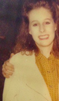 A rare image of me with a perm. Sadly, I did not own a camera and never snapped a photo of my first college buddies.