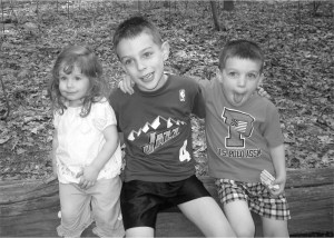 Our three beautiful children.