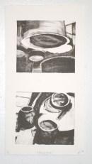 """""""e(c(l)l)ipse,"""" lithograph, 2012"""