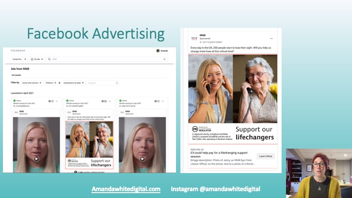 Facebook Advertising, Finding your competitors ads to generate ideas
