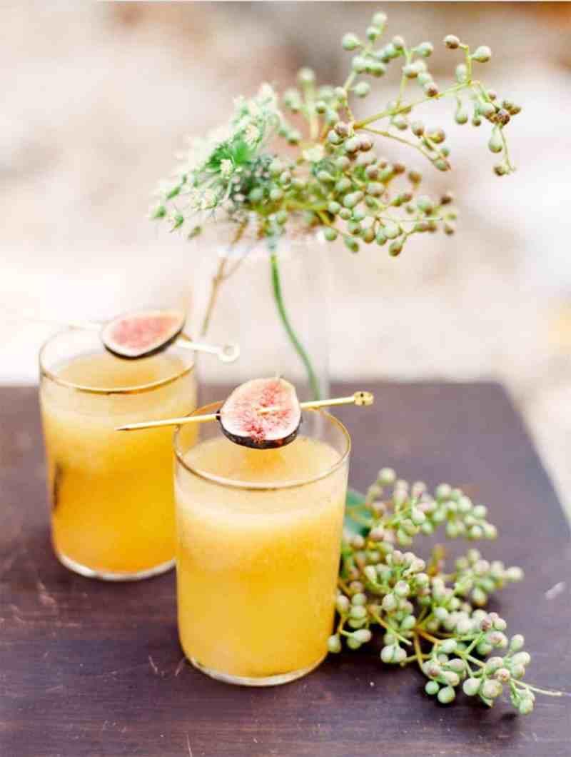 two fig smash cocktails