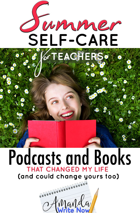 self-care podcasts and books for teachers