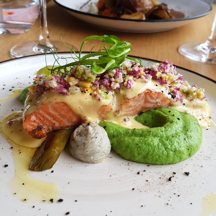 mahé restaurant montpellier filet de truite