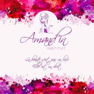 logo institut de beauté Amand'in