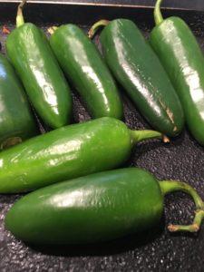 rajas de chile jalapeño marinadas