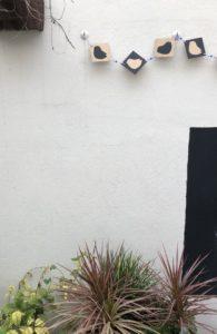 guirnaldas para decorar el jardín