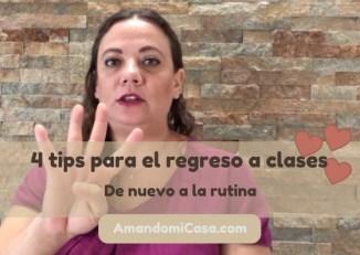 4 tips para el regreso a clases
