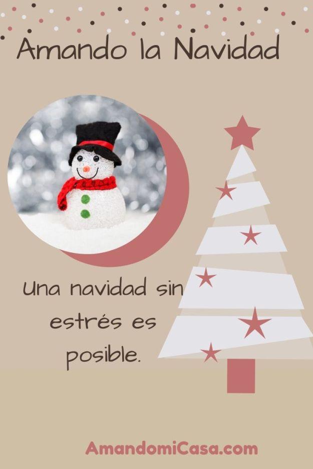 Una navidad sin estrés es posible