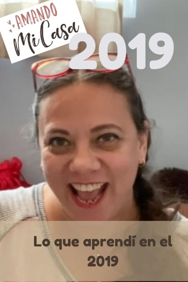 2019 lo que me deja de aprendizaje