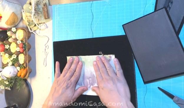 Imprime flores en tela