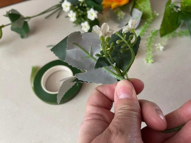 Hacer ramos de flores