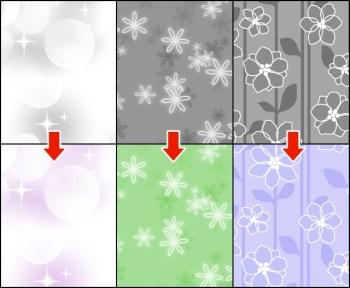 アイビスペイントで素材の色を変える方法!(モノクロ・トーン)|テクスチャの使い方