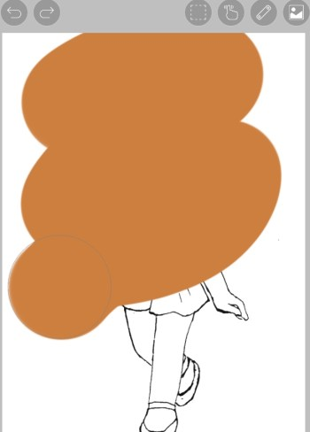 アイビスペイントで線画の色を変える簡単なやり方はコレ!