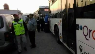 Photo of Protesta de Qrobus inmovilizó a Querétaro