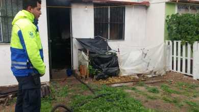 Photo of Controlan incendio de vivienda en Las Esmeraldas