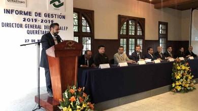 Photo of CONALEP Querétaro rinde Informe de Gestión