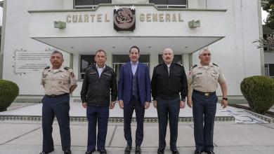 Photo of Se reúne Gobernador con integrantes de la SEDENA