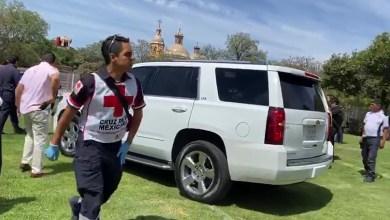 Photo of Grada se colapsó; Karina Castro de Domínguez entre los heridos