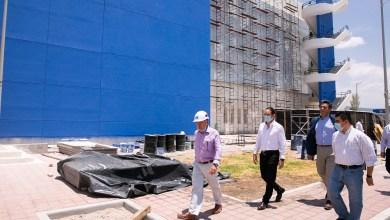 Photo of Supervisan nuevo Hospital General de Querétaro
