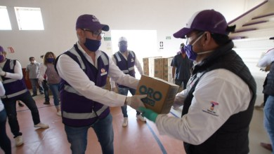 Photo of Toño Mejía logra gestionar más despensas para las familias