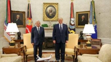 Photo of López Obrador y Trump se reúnen con comitivas en la Casa Blanca