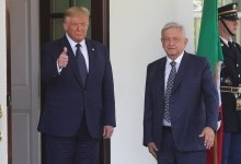 Photo of Comienza reunión AMLO-Trump en la Casa Blanca