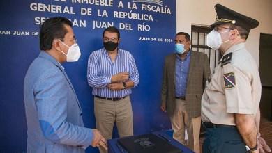 Photo of Entrega San Juan del Río instalaciones para Fiscalía General de la República