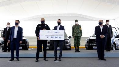 Photo of Fortalece Gobernador a policías estatales con equipamiento antimotín y unidades