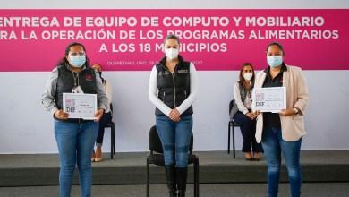 Photo of Entregó DIF Estatal equipo de cómputo y mobiliario para Programas Alimentarios