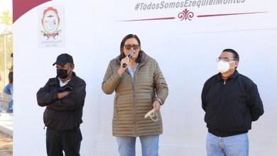 Photo of Elvia Montes hace entrega de rehabilitación de calles Yadira Lira y Joaquín Rocha en La Nueva Unidad