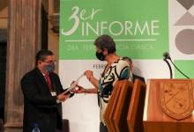 Photo of Teresa García Gasca rindió su 3er. Informe de Actividades al frente de la UAQ