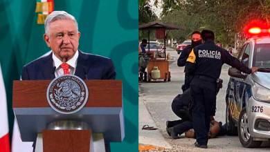 Photo of Fue brutal el trato de los policías hacia migrante salvadoreña: AMLO