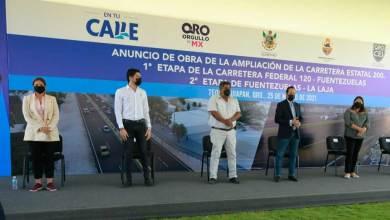 Photo of Gobernador de Querétaro da banderazo a la ampliación de carretera Tequisquiapan