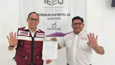 Photo of Alex Perez se registró por MORENA a la diputación 02 de Querétaro